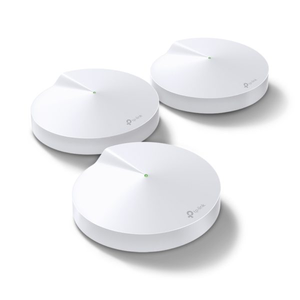 MESH TP-LINK Sistem wireless Complete Coverage – router AC2200 Whole-Home , TP-Link (Deco M9(3-pack))