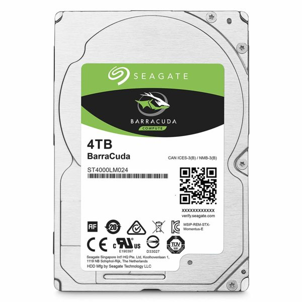 "SEAGATE HDD Mobile Barracuda25 Guardian (2.5'/ 4TB/ SATA 6Gb/s/ rmp 5400) ""ST4000LM024"""