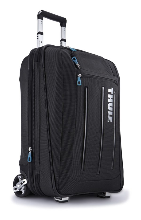 "TROLLER THULE, pt. notebook de max. 22″, 1 compartiment, buzunar frontal x 2, waterproof, volum 45 litri, nylon, negru, ""Crossover Expandable"", ""TCRU-122 BLACK"" / 3201742"