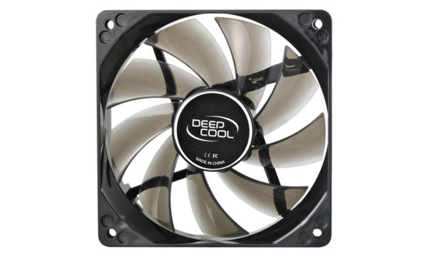 "VENTILATOR DEEPCOOL PC 120x120x25 mm, 4 red LED, Hydro Bearing, ""WIND BLADE 120 RED"""