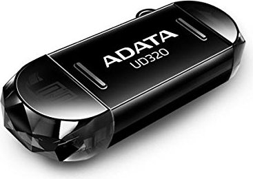 """MEMORIE USB 2.0 16GB. ADATA UD320 On-The-Go Black """"AUD320-16G-RBK"""" (include TV 0.02 lei)"""