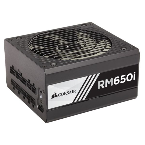 "Sursa Corsair RMi Series RM650i, 650W, full-modulara, 80 Plus Gold, Eff. 90%, Active PFC, ATX12V v2.4, 1x140mm fan, retail ""CP-9020081-EU"""