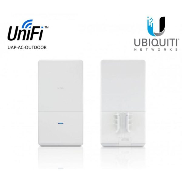 "ACCESS Point Ubiquiti wireless interior 867 Mbps, port 10/100/1000 x 3, antena interna x 2, PoE, 2.4 – 5 GHz, ""UAP-AC-IW"" (include TV 1.5 lei)"