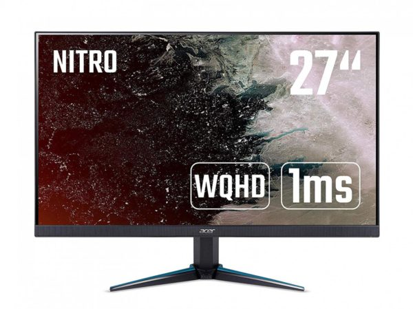 "MONITOR ACER 27″, gaming, IPS, WQHD (2560 x 1440), Wide, 350 cd/mp, 1 ms, HDMI, DisplayPort, ""UM.HV0EE.P01"" (include TV 5 lei)"