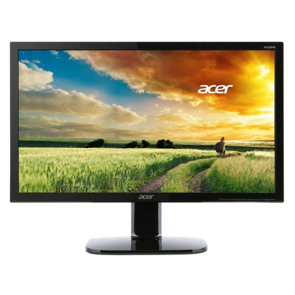 """MONITOR ACER 21.5″, home or office, TN, Full HD, 1920 x 1080 60 Hz Wide, 200 cd/mp, 5 ms, VGA, DVI, HDMI, """"UM.WX0EE.001"""" (include TV 5 lei)"""