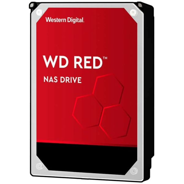 "HDD WD 6 TB, Red, 5.400 rpm, buffer 256 MB, pt. NAS, ""WD60EFAX"""