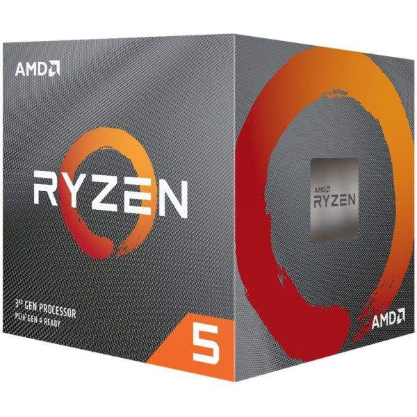 "CPU AMD, skt AM4, Ryzen 5, 3.8GHz, (Turbo 4.4GHz), 6Core, cooler, ""100100000022BOX"""