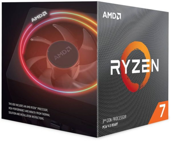 "CPU AMD, skt AM4, Ryzen 7, 3.6GHz, (Turbo 4.4GHz), 8Core, cooler, ""100100000071BOX"""