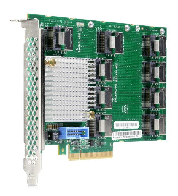 """HPE DL38X Gen10 12Gb SAS Expander Card Kit with Cables """"870549-B21"""""""