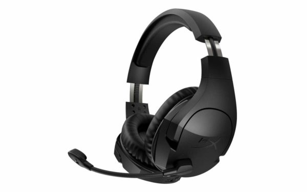 "Casti cu microfon Kingston gaming, HyperX Cloud Stinger Wireless, Full size, Adaptor USB, Autonomie de pana la 17h, Culoare neagra ""HX-HSCSW2-BK/WW"""