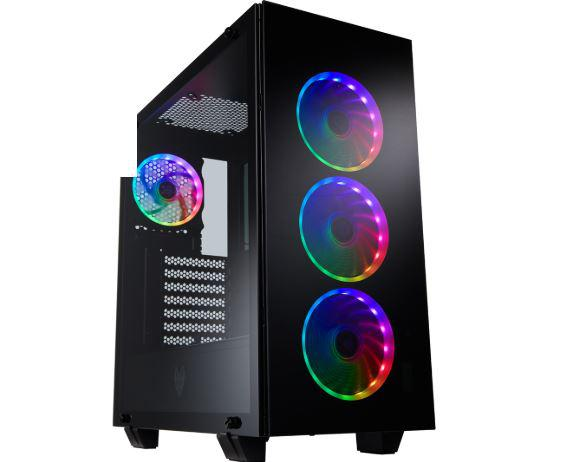 """Carcasa FSP CMT510 PLUS; Mid Tower ATX, Panel: USB3.0 x 2, Audio, Microphone, 2x 3.5″ Drive Bays, 2x 2.5″ Drive Bays, Fan&Water Cooler supply: Front: 120mm x 3 or 140mm x 2, or 360mm x1 Radiator, """"CMT510 PLUS"""""""