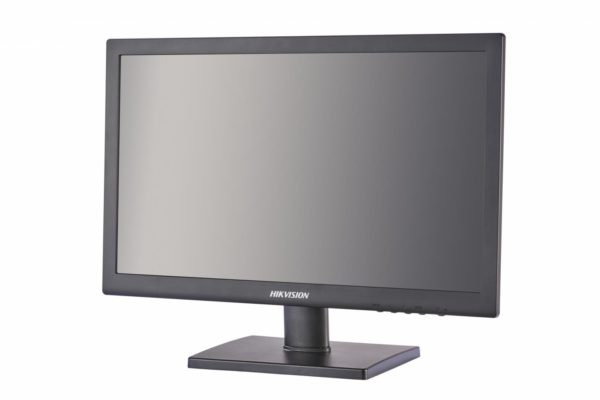 """Monitor Hikvision 19″LED, DS-D5019QE-B; LED-Backlit TFT LCD; Screen Size: 18.5#; Max Resolution: 1366xxxx768; Response Time: 5ms; Viewing Angle: Horizontal 90grade, Vertical 65grade; 3D comb filter; 3D De-interlace; """"DS-D5019QE-B"""""""