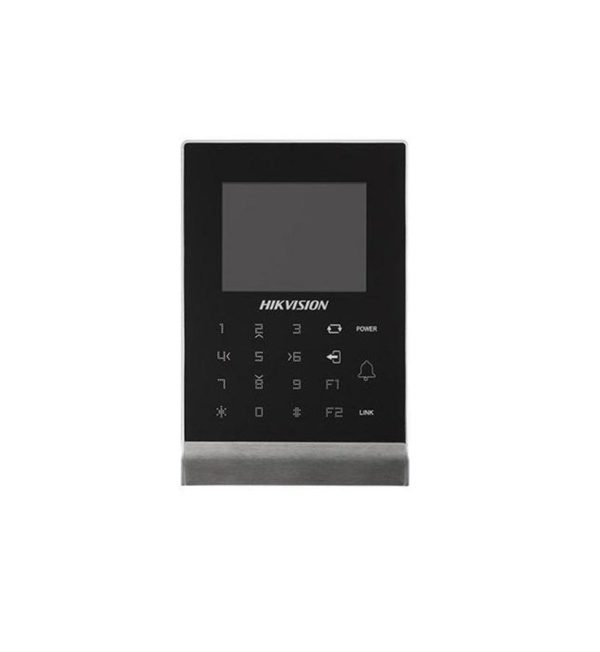 """Cititor standalone Hikvision cu ecran LCD-TFT, DS-K1T105M; 2.8inch;Built-in Mifare card reading module, Max. 100,000 cards No., andMax.300,000 access control events records, TCP/IP, WIFI, RS-485 """"DS-K1T105M"""""""
