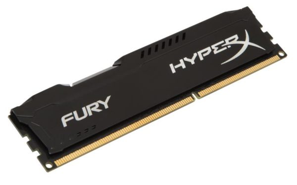 "Memorie RAM Kingston, DIMM, DDR3, 4GB, 1600MHz, CL10, HyperX FURY Memory Black, 1.5V ""HX316C10FB/4"""