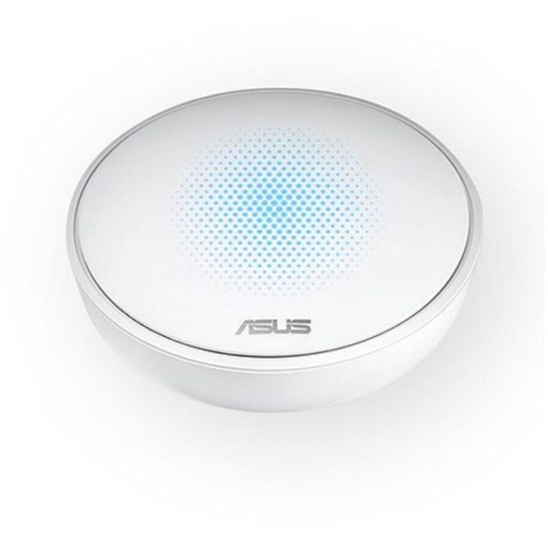 "ASUS AC1300 Dual Band Whole-Home Mesh WiFi System, MAP-AC1300 (1-PK); with AiProtection network security powered by Trend Micro, ASUS Lyra App and Advanced Parental Control; ""MAP-AC1300 (1-PK)"""