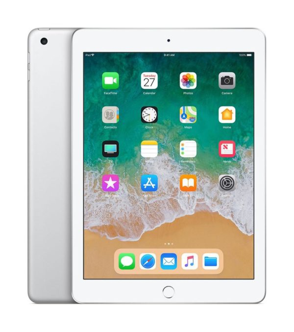 """Tableta iPad (2018) 9.7 Retina Display 2048×1536 LED-backlit Multi-Touch display with IPS technology, 264ppi, Procesor A10 Fusion chip with 64- bit architecture, Embedded M10 coprocessor, RAM 2GB, ROM 32GB, iOS 11 """"MR6P2HC/A"""""""