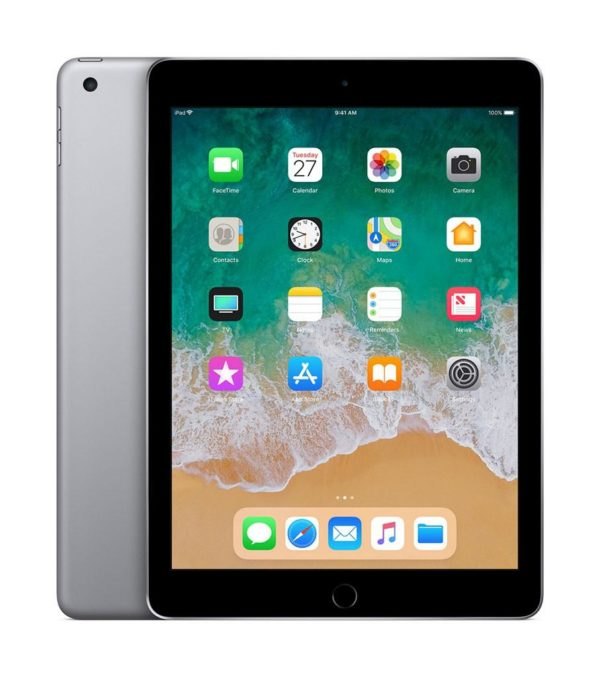 """Tableta iPad (2018) 9.7 Retina Display 2048×1536 LED-backlit Multi-Touch display with IPS technology, 264ppi, Procesor A10 Fusion chip with 64- bit architecture, Embedded M10 coprocessor, RAM 2GB, ROM 128GB, iOS 11 """"MR722HC/A"""""""