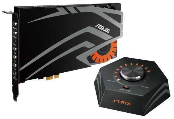 "Placa de sunet Asus, STRIX_RAID_PRO, PCI Express, C-Media USB2.0 6632AX High-Definition Sound Processor (Max. 384KHz / 24bit), 5*jack 3.5 mm, 1 *jack 3.5mm, 1*iesire S/PDIF, 190 x 130 x 22 mm ""STRIX_RAID_PRO"""