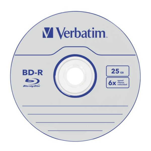 "BD-R VERBATIM 25GB, viteza 6x, 1 buc, Single Layer, carcasa, ""Colour"" ""43775"" 25GB, viteza 6x, 1 buc, Single Layer, carcasa, ""Colour"" ""43775"""