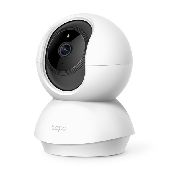 "Camera IP. wireless 1080p HD, zi/noapte, 2-way audio,360 grade rotatie, senzor miscare, TP-LINK ""Tapo C200"""