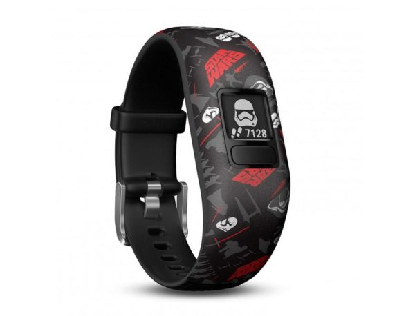 "BRATARA fitness GARMIN, Vivo fit Jr2 WW, pt copii, cu Bluetooth, ceas, accelerometru, compatibil iOS si Android, Fstar Wars First Order, ""010-01909-13"""