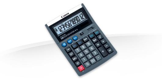 "CANON TX-1210E CALCULATOR 12 DIGITS ""4100A014AB"""