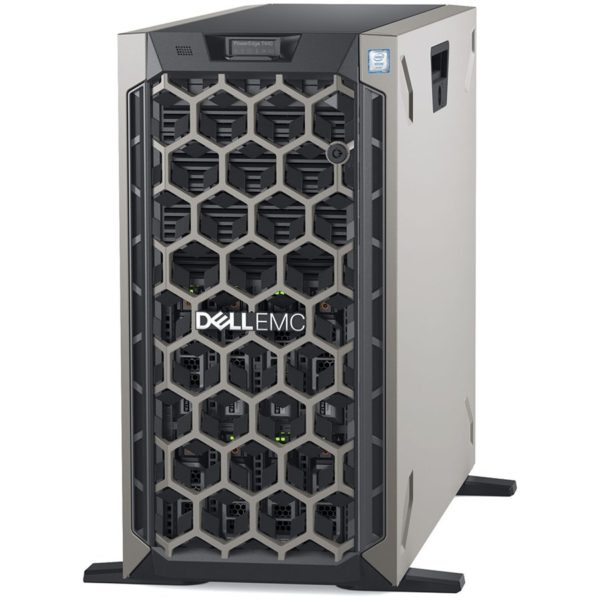 Dell PowerEdge T440 Tower Server,Intel Xeon Silver 4208 2.1G (8C/16T), 16GB(1x16GB) 2666 MT/s RDIMM, 600GB 10K RPM SAS – 2.5in Hot-plug HDD 3.5in HYB CARR(Chassis with up to 8, 3.5″ Hot Plug HDD), PERC H330, iDRAC9 Express, 3Yr NBD