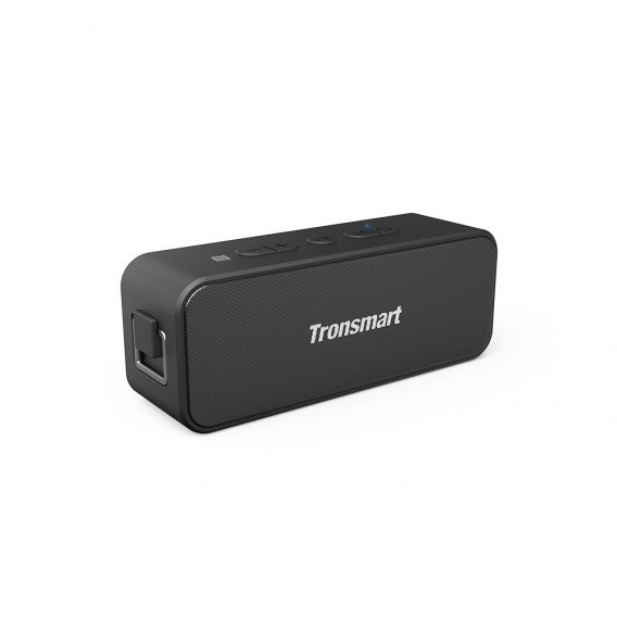 "BOXE TRONSMART portabile bluetooth, RMS: 20W (2 x 10W), Bluetooth 5.0, AUX, microSD, TWS pairing, built-in Li-ion pana la 24h, incarcare USB-C, IPX7 fully waterproof, black, ""T2 Plus"""