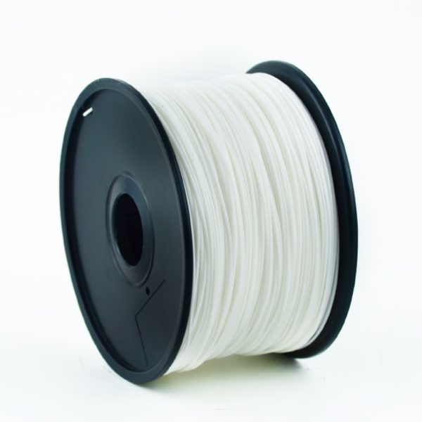 "FILAMENT GEMBIRD pt. imprimanta 3d, ABS, 1.75mm diamentru, 1Kg / bobina, aprox. 400m, topire 225-240 grC, white, ""3DP-ABS1.75-01-W"""