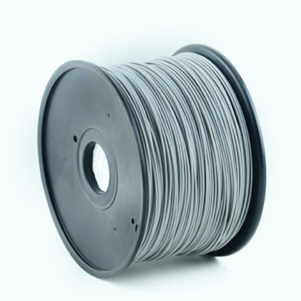 "FILAMENT GEMBIRD pt. imprimanta 3d, PLA, 1.75mm diamentru, 1Kg / bobina, aprox. 330m, topire 190-220 grC, grey, ""3DP-PLA1.75-01-GR"""