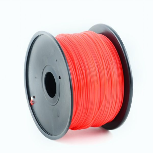 "FILAMENT GEMBIRD pt. imprimanta 3d, PLA, 1.75mm diamentru, 1Kg / bobina, aprox. 330m, topire 190-220 grC, red, ""3DP-PLA1.75-01-R"""