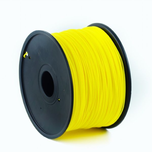 "FILAMENT GEMBIRD pt. imprimanta 3d, PLA, 1.75mm diamentru, 1Kg / bobina, aprox. 330m, topire 190-220 grC, yellow, ""3DP-PLA1.75-01-Y"""