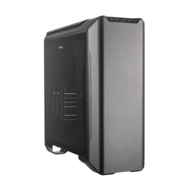 "CARCASA COOLER MASTER Middle-Tower E-ATX, MasterCase SL600M, w/ controller, tempered glass, 2* 200mm fan (incluse), I/O panel, black edition ""MCM-SL600M-KGNN-S00"""