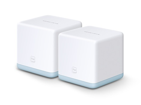 """MESH Mercusys Sistem wireless Complete Coverage – router AC1200 Whole-Home """"Halo S12(2-pack)"""""""