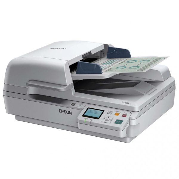EPSON DS-6500 A4 SCANNER + NETWORK ADPT