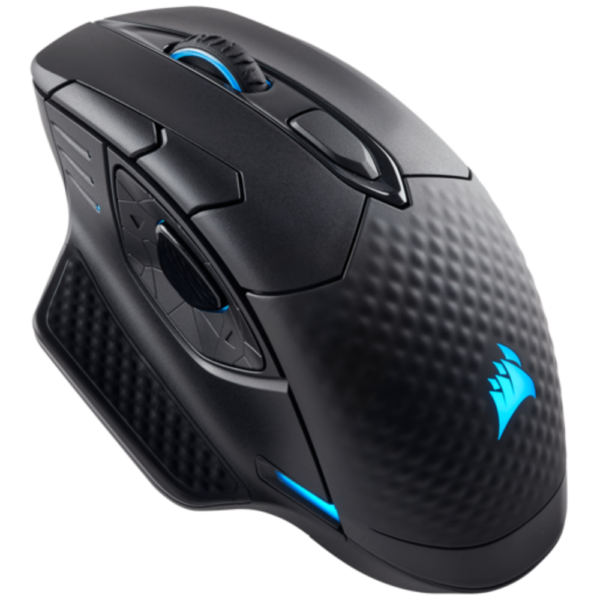CORSAIR DARK CORE RGB SE Performance Wired / Wireless Gaming Mouse with Qi Wireless Charging, Black, Backlit RGB LED, 16000 DPI, Optical (EU version)