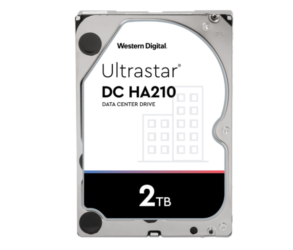 "HDD WD – server 2 TB, Gold, 7.200 rpm, buffer 128 MB, pt. server, ""WD2005FBYZ"""
