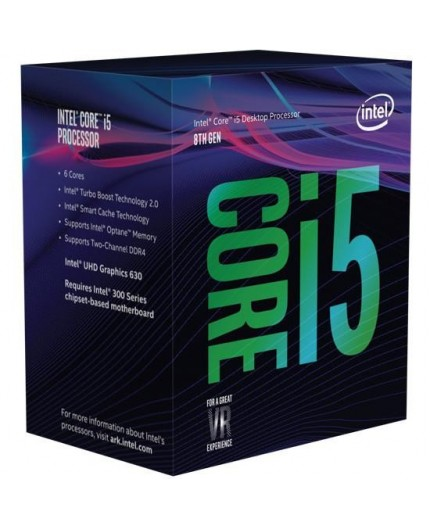 "CPU INTEL, skt LGA 1151, Core i5, 3.0GHz, (Turbo 4.4GHz), 6Core, cooler, ""BX80684I59500SRF4B"""