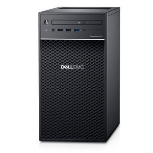 Dell PowerEdge T40 Tower Server,Intel Xeon E-2224G 3.5GHz(4C/4T),8GB(1x8GB)2666MT/s DDR4 ECC UDIMM,1TB 7.2K RPM SATA(3.5″ Chassis with up to 3 Hard Drives),DVD +/-RW,3Yr NBD