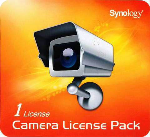 SURVEILLANCE DEVICE LICENSE PACK SYNOLOGY – 1 LICENSE