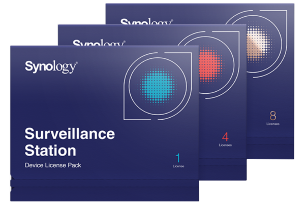 SURVEILLANCE DEVICE LICENSE PACK SYNOLOGY – 4 LICENSE
