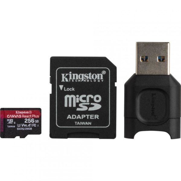 KS CARD READER SDXC + SDR2 256GB