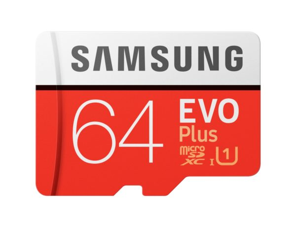 Card memorie Samsung MB-MC64HA/EU, Micro-SDXC, EVO Plus, 64GB