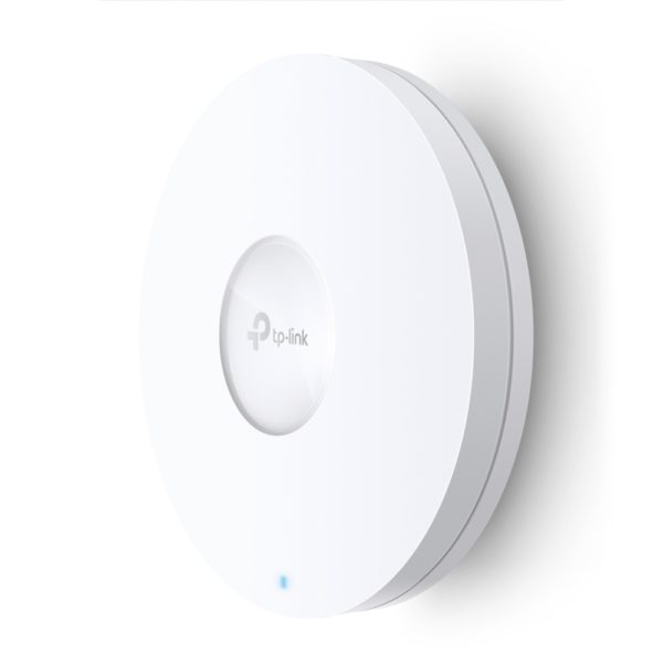 """ACCESS POINT TP-LINK wireless 1800Mbps dual band, 1 port Gigabit LAN, 4 antene interne, IEEE802.3at PoE, Dual Band Wi-Fi 6 AX1800, montare pe tavan/perete """"EAP620 HD"""" (include TV 1.5 lei)"""