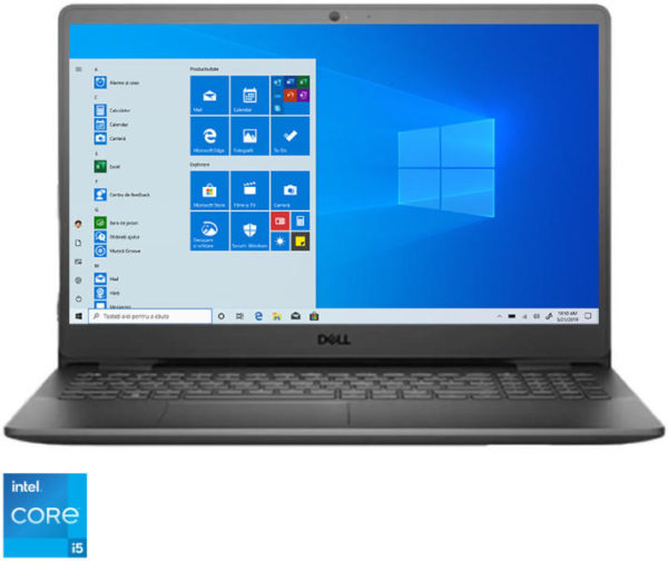 """Dell Vostro 3500,15.6″FHD(1920×1080)AG noTouch,Intel Core i5-1135G7(8MB,up to 4.2 GHz),8GB(1×8)2666MHz DDR4,256GB(M.2)NVMe PCIe SSD,noDVD,Intel Iris Xe Graphics,Wi-Fi 802.11ac(1×1)+ Bth,noBacklit KB,noFrgp,3-cell 42WHr,Win10Pro,3Yr NBD """"N3004VN3500"""