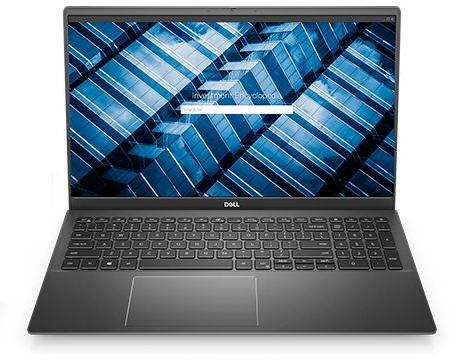 """Dell Vostro 5502,15.6″FHD(1920×1080)LED Backlight AG,Intel Core i5-1135G7(8MB Cache,up to 4.2GHz),8GB(1×8)3200MHz DDR4,256GB(M.2)PCIe NVMe SSD,Intel Iris Xe Graphics,Wi-Fi(2×2)802.11ac+Bth,Backlit KB,noFGP,3-cell 40WHr,Win10Pro,3Yr NBD """"N5104VN5502"""