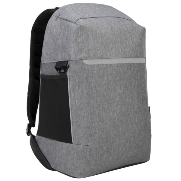"""TSB938GL CityLite Security Backpack best for work, commute or university, fits up to 15.6″ Laptop – Grey, """"TSB938GL"""""""