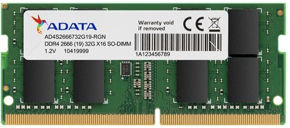 """AA SODIMM 32GB 2466Mhz AD4S266632G19-SGN, """"AD4S266632G19-SGN"""""""